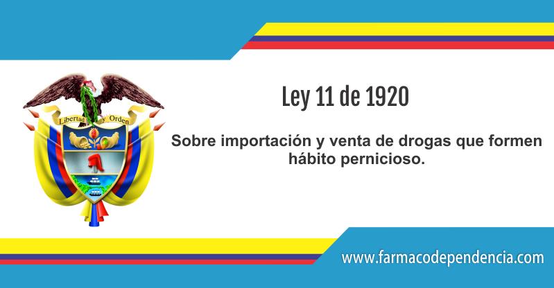 Ley 11 de 1920