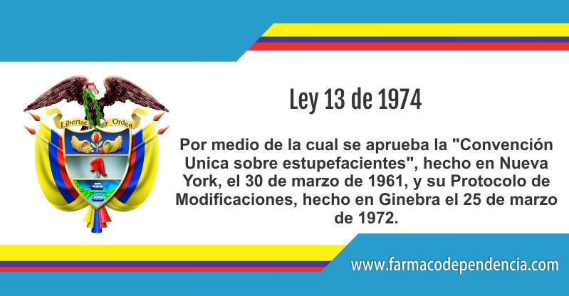 Ley 13 de 1974