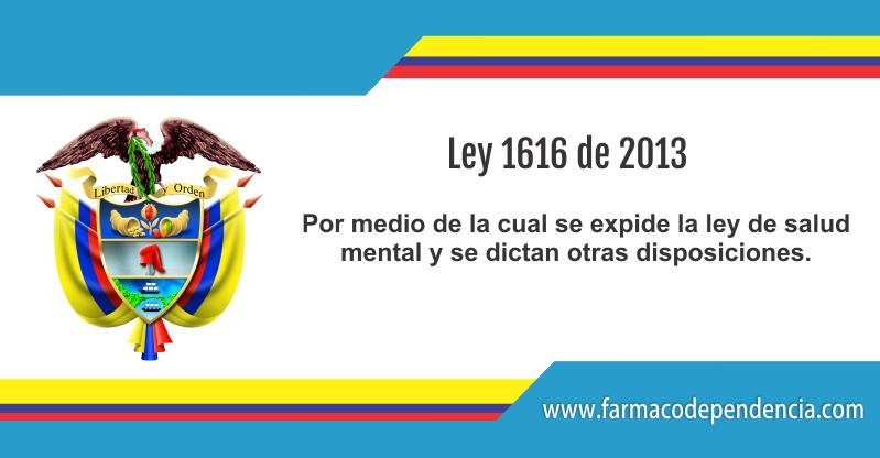 Ley 1616 de 2013