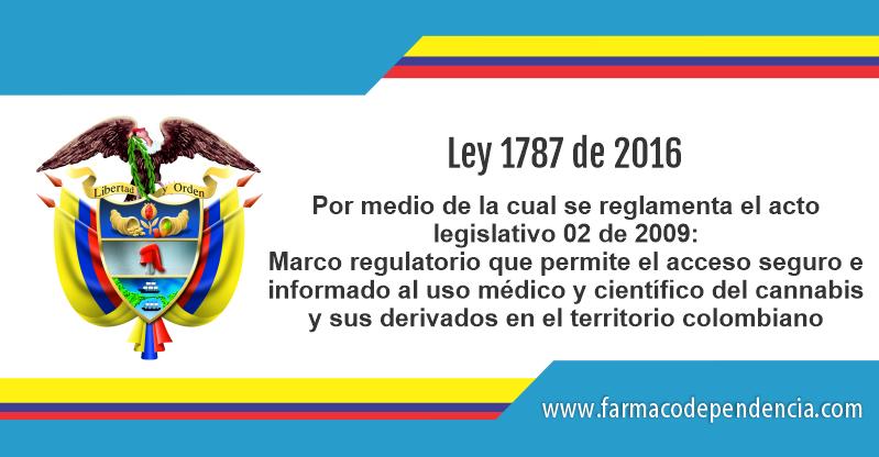 Ley 1787 de 2016