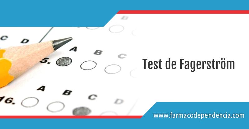 Test de Fagerström
