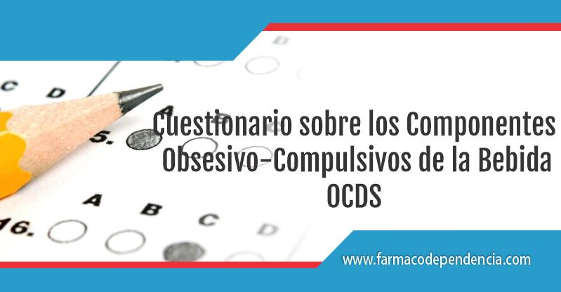 Cuestionario sobre los Componentes Obsesivo-Compulsivos de la Bebida