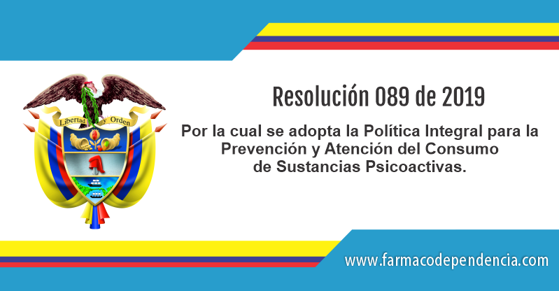 Resolución 089 de 2019