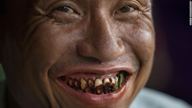 Nueces de betel: la mortal adicción en Asia