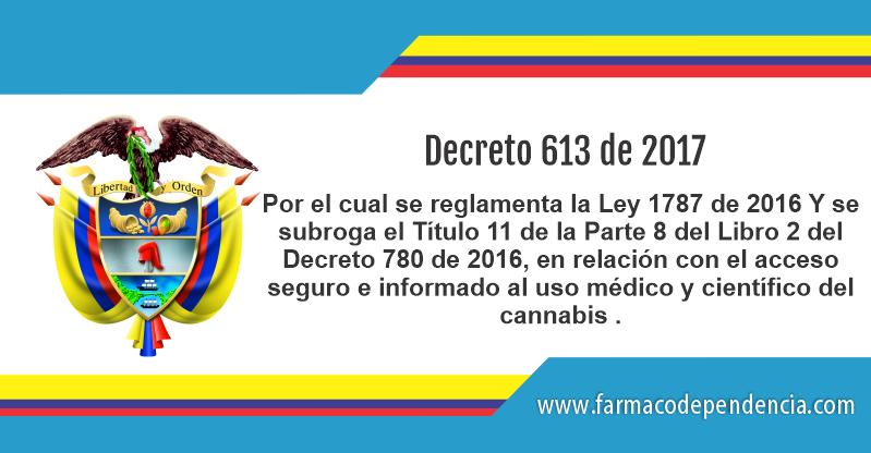 Decreto 613 de 2017